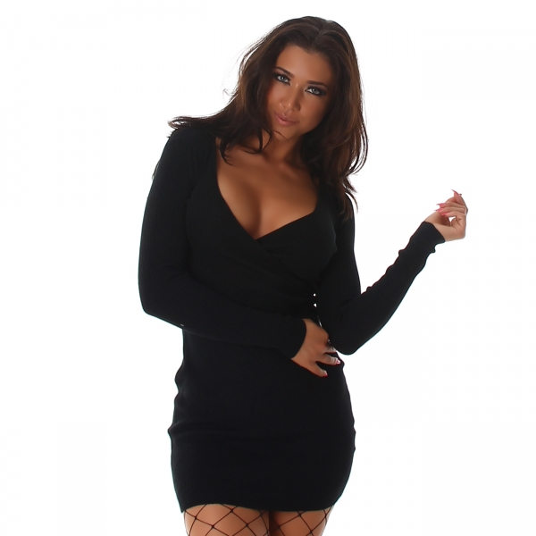Knitted Dress L823