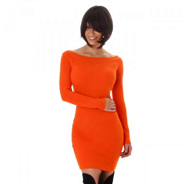 Sexy Knitted Dress M7618L