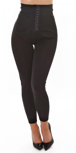 Sexy High Waist Corset Hip Lift Fitness Leggings