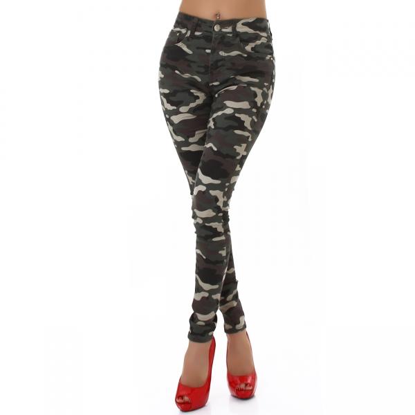 Sexy Skinny Hose Camouflage