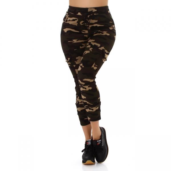Sexy Camouflage Cargo-Hose