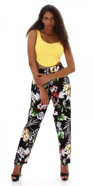 Sexy Summer Pants Flower