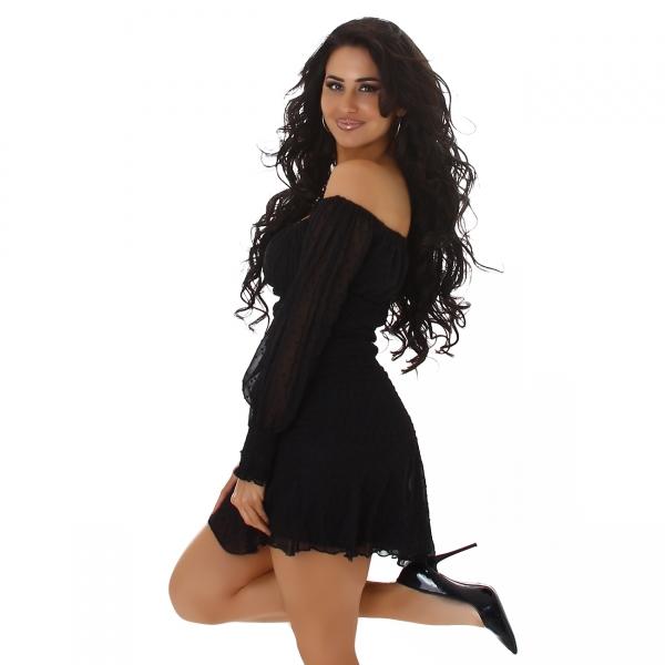 Sexy Kleid Carmen Ausschnitt
