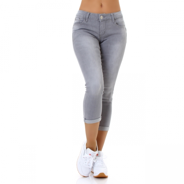 Sexy 7/8 Skinny Trousers Push Up