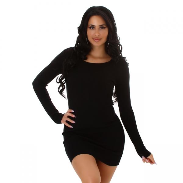 Sexy Knitted Fine Rib Dress