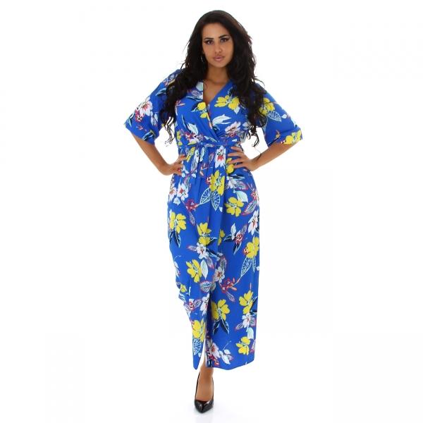 Sexy Flower Maxi Dress