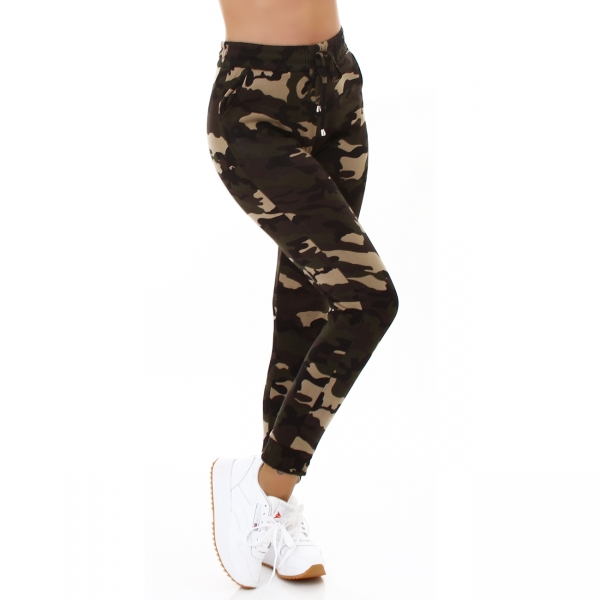 Sexy Camouflage Hose Thermo
