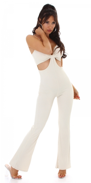 Sexy Overall with Cut Outs