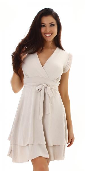 Sexy Kleid mit V-Ausschnitt