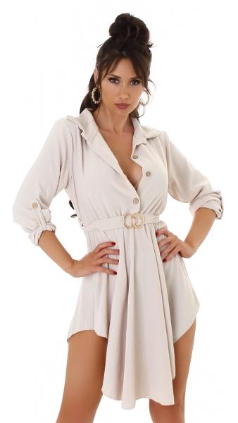 Sexy Kleid/ Tunika mit Schnalle