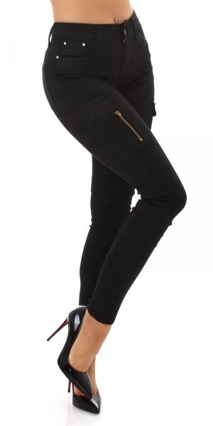 Sexy Skinny Jeans mit Taschen