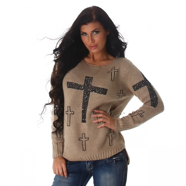 Knitted Sweater JL215P
