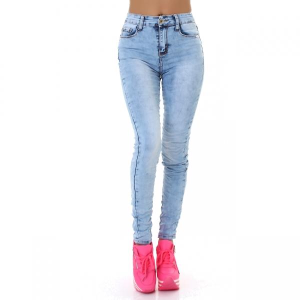 Sexy High Waist Skinny Jeans