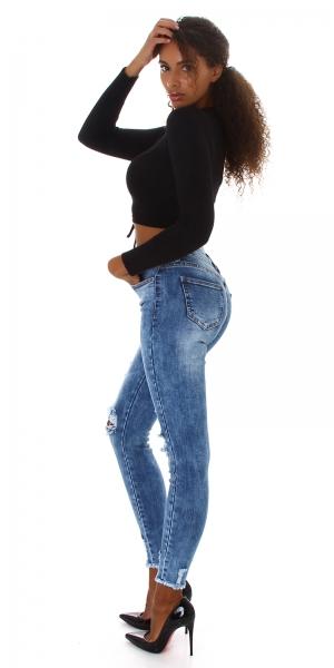 Sexy High Waist Jeans Destroyed