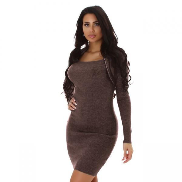 Sexy Knitted Dress MC3004F