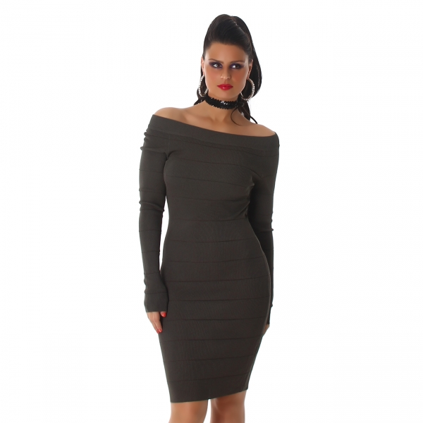 Knitted Dress C538