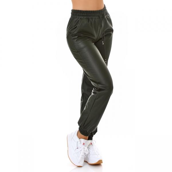 Sexy Leather Imitation Pants
