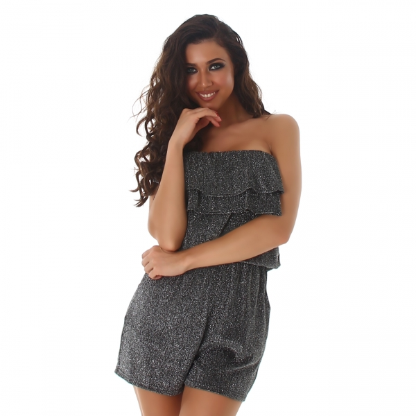 Sexy Bandeau Overall
