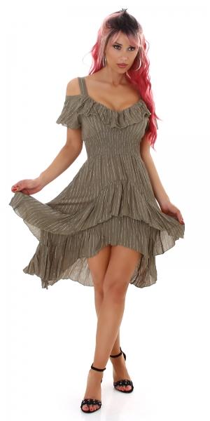 Sexy Summer Dress with Ruffles