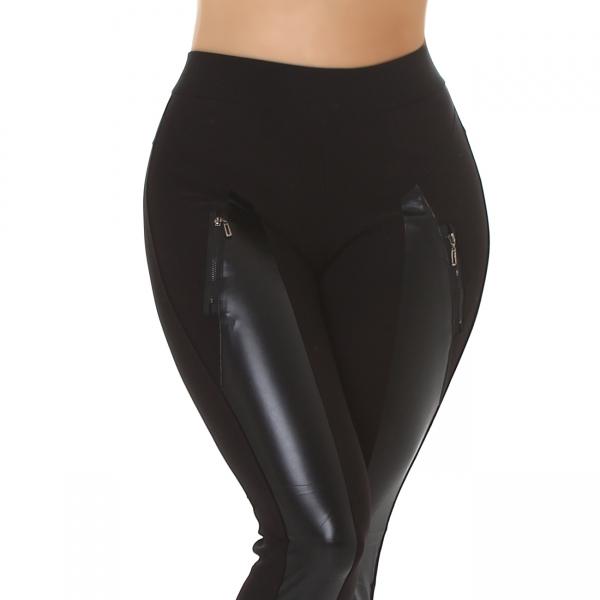 Sexy Leather Imitation Leggings
