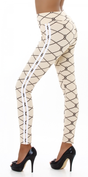 Sexy High Waist Leggings with Print