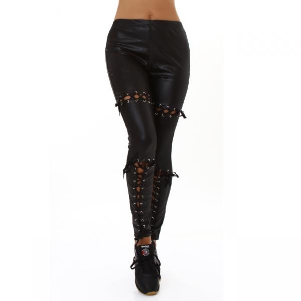 Sexy Imitation Leather Leggings LM30068